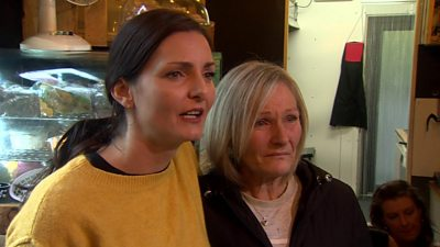 Leah and Wendy Stenning worked with the man at a nearby cafe