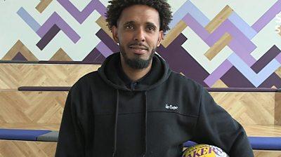 Basketball player Albahry