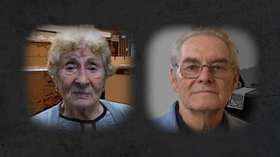 Tomi and Susan were imprisoned at Bergen-Belsen at the same time but haven't met until now.