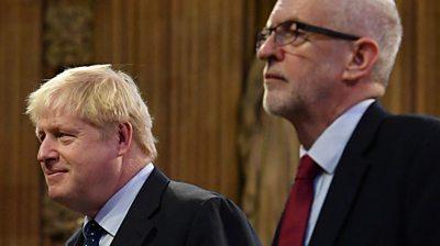Johnson and Corbyn