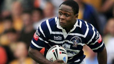 Ex-rugby league player, Ade Adebisi