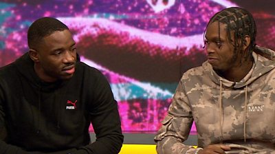 Rap duo Krept and Konan discuss whether they plan to vote in the upcoming election.
