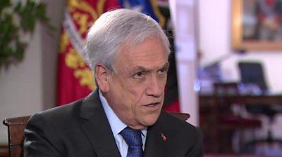 Chilean President Sebastián Piñera