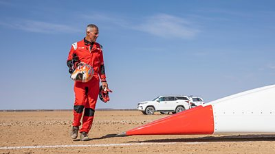 The UK-led challenge to the land speed record ups its pace in high speed trials