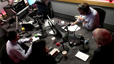 BBC Red Lines studio