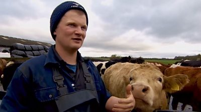 Tom Pemberton's channel shows daily life on the family farm and has 110,000 subscribers.