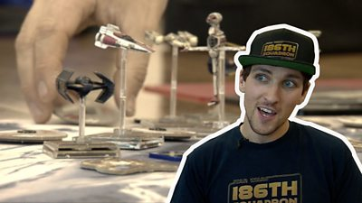 Oliver Pocknell beat 1,000 competitors from 20 countries to become world champion of X-Wing.