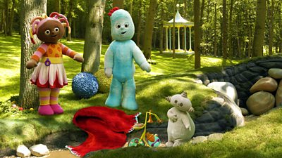 Igglepiggle's Blanket in Makka Pakka's Ditch