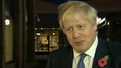 Boris Johnson denied his general election campaign had been thrown off course by a rape trial row
