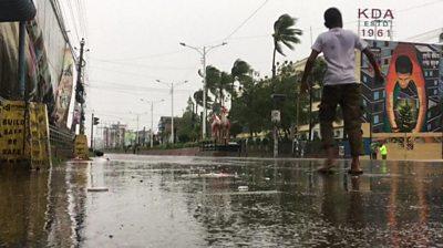 Cyclone Bulbul hits Khulna, Bangladesh