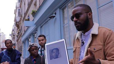 Kevi Donat in Paris
