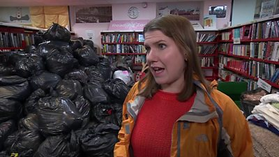 Jo Swinson in Stainforth