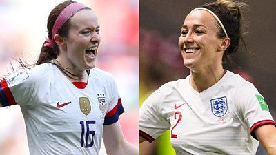 Women's football: Pundits pick favourite moments of 2019