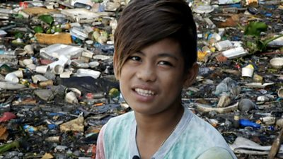 Ranniel dives into one of Manila's most polluted rivers for less than two dollars a day.