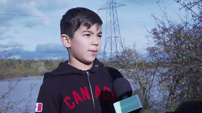 We talk to kids affected by the floods