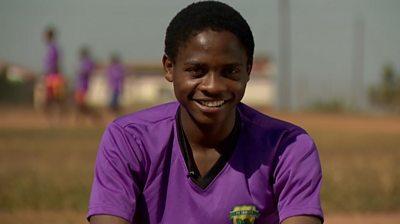 Eswatini footballer, Leon