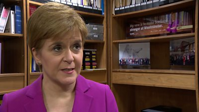 """Nicola Sturgeon says it is """"fundamentally unfair"""" that the debate will only feature Boris Johnson and Jeremy Corbyn."""