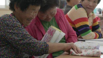 Grandmothers at school