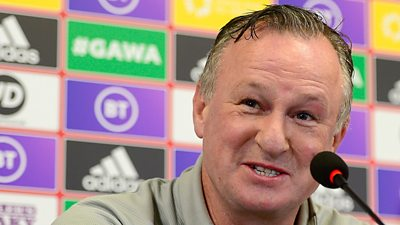 Michael O'Neill was appointed Stoke City manager last week