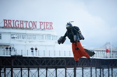 Jetman smashes speed record