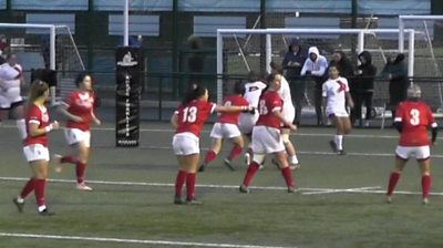 Highlights: England Lions 20-24 Wales Women