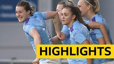 WSL highlights: Manchester City 1-1 West Ham
