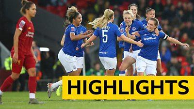 WSL highlights: Liverpool 0-1 Everton