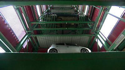 A smart parking garage in Addis Ababa, Ethiopia