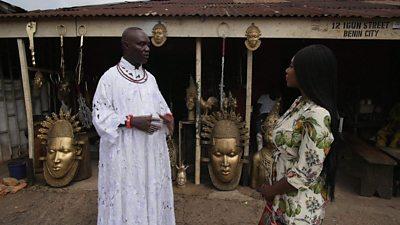 Chief Kingsley Inneh speaks to Ashionye Ogene