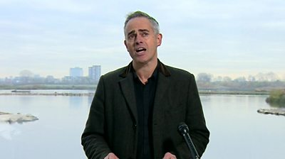 """Green Party co-leader Jonathan Bartley says his party is """"ready to remain and transform everything"""" and called its green New Deal the most """"ambitious in the world"""""""
