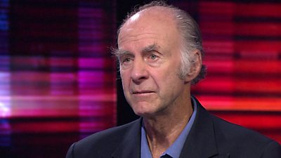 Sir Ranulph Fiennes, author and explorer