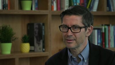Steve Hatch defends the company's decision not to ban political advertising saying it 'bolsters democracy'.
