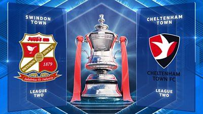 Highlights: Swindon Town 0-1 Cheltenham Town