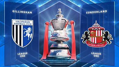 FA Cup: Gillingham 1-0 Sunderland highlights