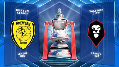 FA Cup: Burton Albion 4-1 Salford City highlights