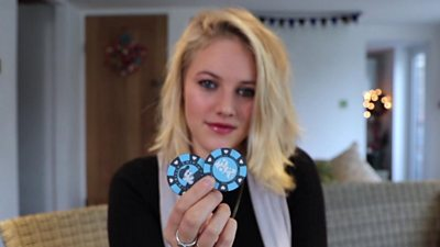 Meg Abernethy-Hope holding a Billy Chip