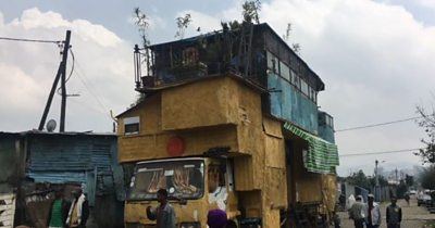 The truck house