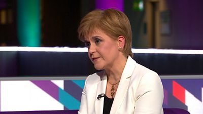 SNP leader Nicola Sturgeon has reiterated her commitment to an independence referendum in 2020.