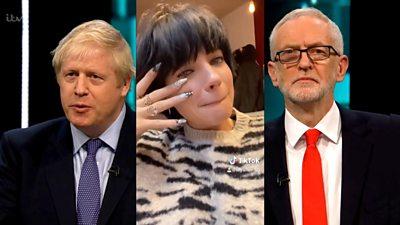 Boris Johson, Lily Allen, Jeremy Corbyn