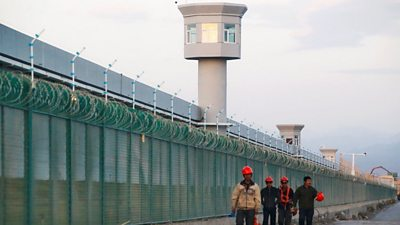 High-security prison camp in China
