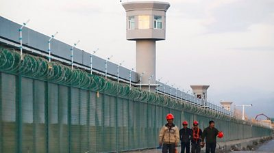 A high-security prison camp in China