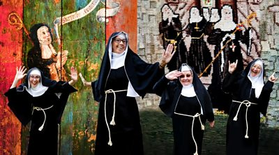 Nuns in Romsey