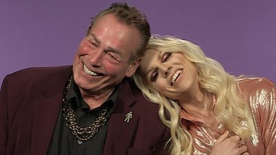 Bobby George and Courtney Act