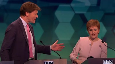 The SNP leader cashes with the Brexit Party's Richard Tice over whether an EU exit deal is achievable.
