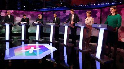 Seven politicians face BBC election debate