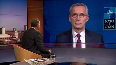 Jens Stoltenberg with Andrew Marr
