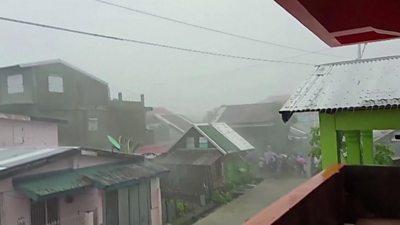Philippine storm