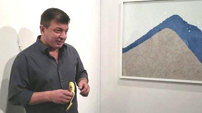 Performance artist David Datuna