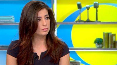 US reporter slapped on her backside during live TV report