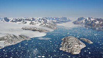 Greenland outlet glacier